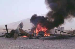 Taliban Shot down Afghan Air Force Sikorsky UH-60A Black Hawk Helicopter In Helmand