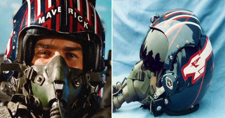 Tom Cruise's Top Gun Fighter Pilot Helmet Is Up For Auction