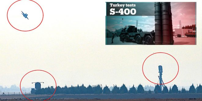 Is Turkey Testing US-made F-16s and F-4s Fighter Jets Against Russian S-400 Missile System? - Fighter Jets World