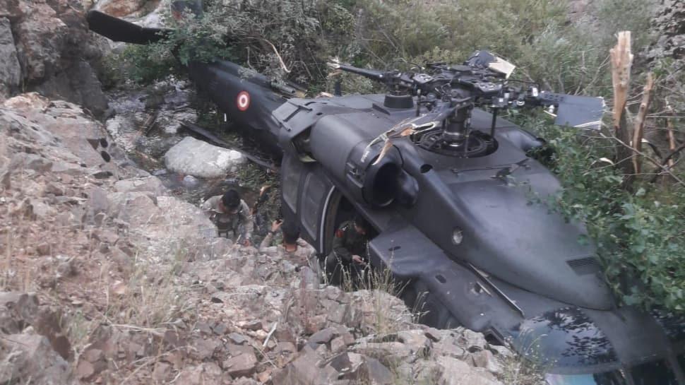 Turkish Armed Force Sikorsky S-70 Black Hawk Helicopter Crash-land in Diyarbakir