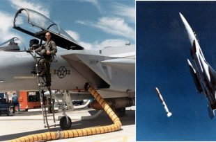 Here's The Only Pilot To Shoot Down A Satellite By A Fighter Jet