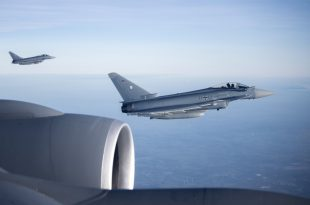 RAF Eurofighter Typhoon Fighter Jets Scramble To Intercept Ryanair Jet After Suspicious Item Found In Toilet