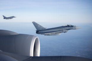 RAF Eurofighter Typhoon Fighter Jets Scramble To Intercept Ryanair Jet After Suspicious Item Found In Toilet
