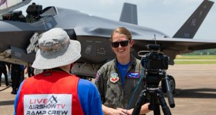 Here The First-ever F-35A Lightning II Demonstration That Was Broadcast Live Around The World