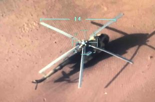 Libyan National Army Helicopter Carrying Ammunition Exploded Killing 4 Russian Mercenaries