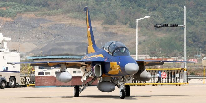 Indonesian Air Force KAI T-50i Golden Eagle Skidded Off The Runway During Takeoff