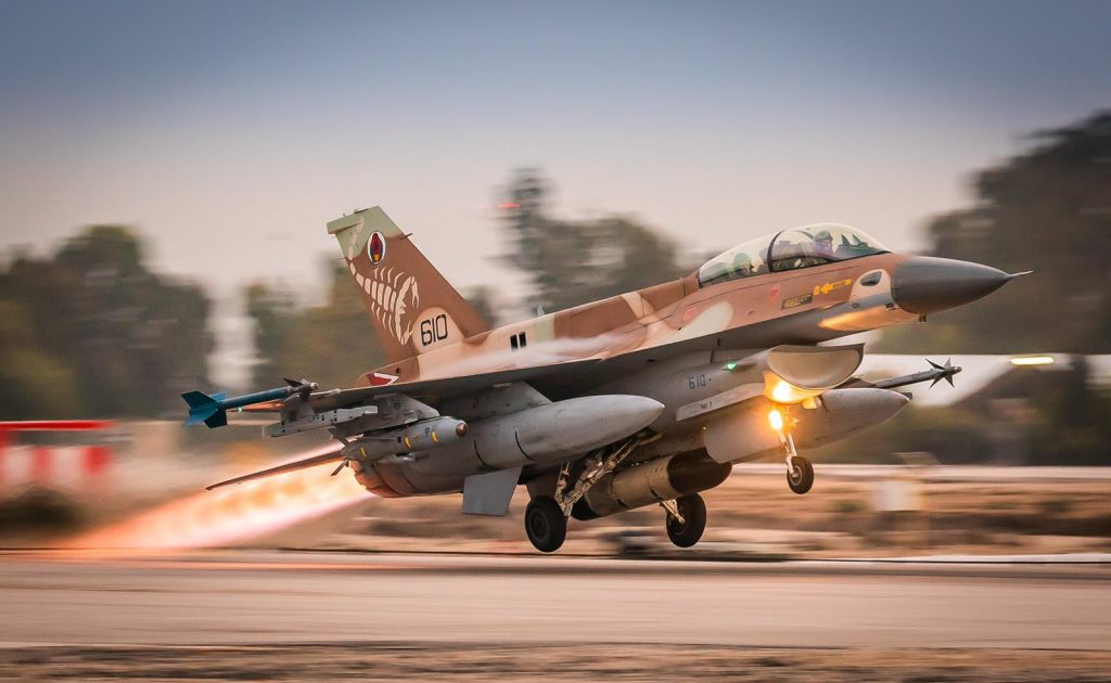 Israeli Air Force F-16 Fighter Jets Land In Germany For The First Time In History