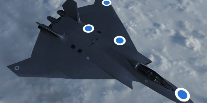 UK Unveils 3D Model Of RAF's Next-generation Tempest Fighter Jet
