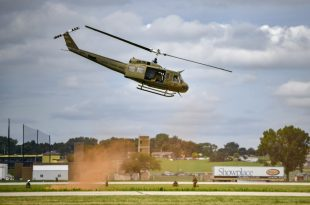 FBI Investigates Shooting Of US Air Force Bell UH-1N Huey Helicopter Over Northern Virginia