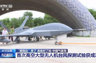 How China Is Using Military Drones To Detect Typhoons