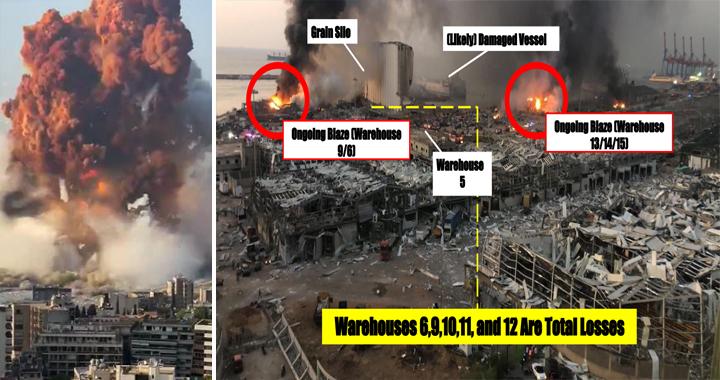 Lebanon Blast: Massive Explosion And Shockwave Hit Beirut's Port - Dozens Dead & Thousands Injured