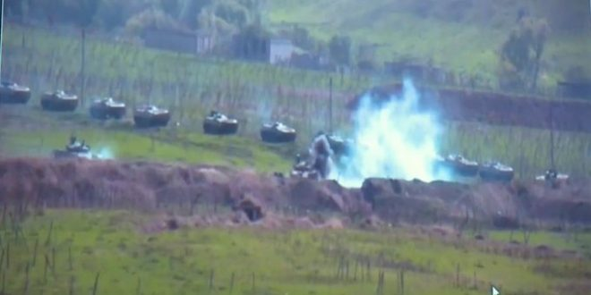 Fighting Erupts Between Armenia and Azerbaijan Over disputed Nagorno-Karabakh Region