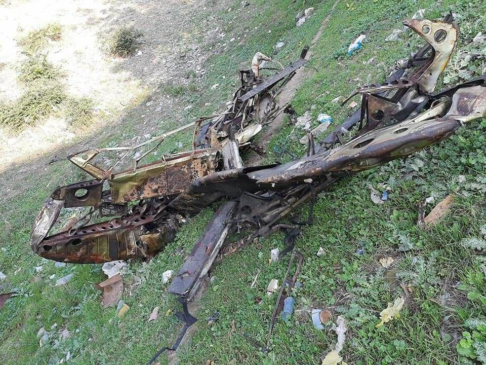 Armenian Air Force SAM Shot Down Azerbijan Air Force Mil Mi-8 Helicopter