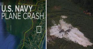 U.S. Navy E-2C Hawkeye Surveillance Aircraft Crashes In Virginia During Training Flight