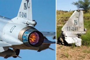 Here Are Details About PAF JF-17 Thunder That Crashed During Training Flight