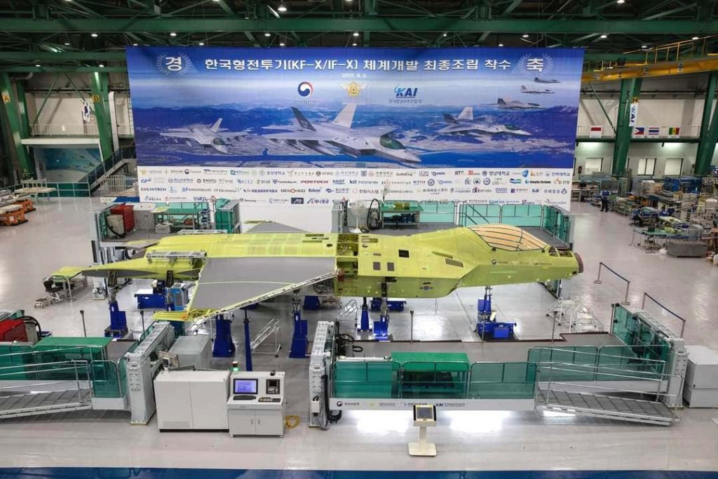 South Korea's Next-Generation Fighter Jet Rapidly Taking Shape at Saechon Factory
