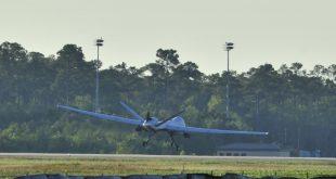 U.S. Air Force MQ-9 Reaper UAV Damaged During Take-off At Holloman AFB