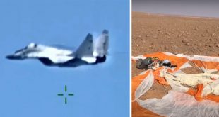 MiG-29 Fighter Jet Shot Down Over Libya, Russian Pilot Ejected Safely (Video)