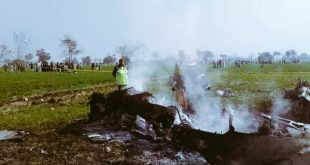Pakistan Air Force Fighter Jet Crashes near Attock, Pilot Ejected Safely