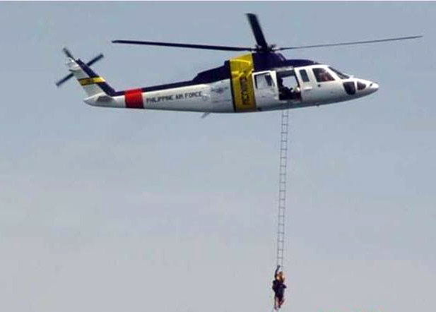 Philippine Air Force Sikorsky S-76 Helicopter Crashed Killing 2 Pilots and 2 Crew Members