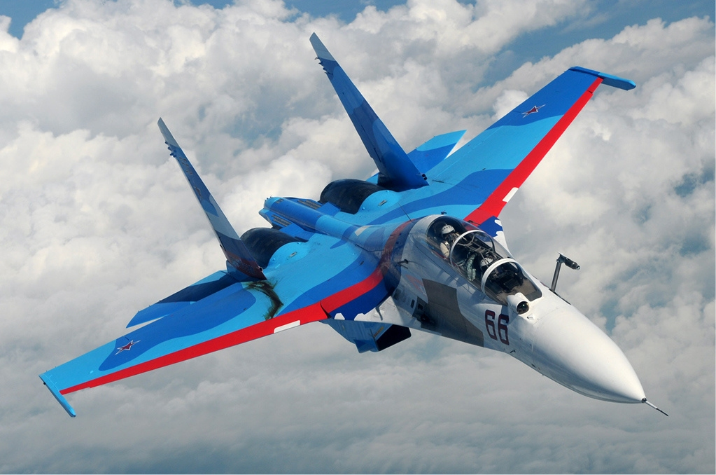 Russian Air Force Sukhoi Su-30 Fighter Jet Crashes In Tver Region