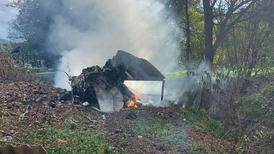 Serbian Air Force MiG-21 UM Fighter Jet Crashes Near Bosnian Border Killing Both Pilots