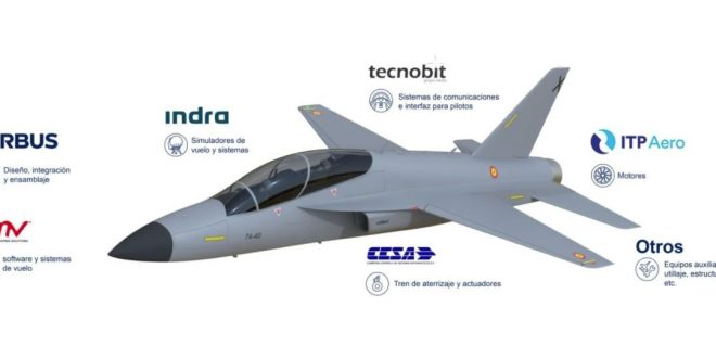 Airbus Unveils Concept Of New Advanced Jet Trainer Aircraft Design