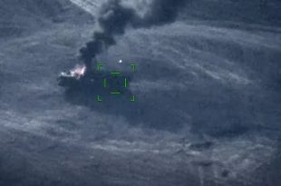Watch: Azerbaijan Air Force Destroys Armenia's Smerch Missile Used In Barda Missile Attacks