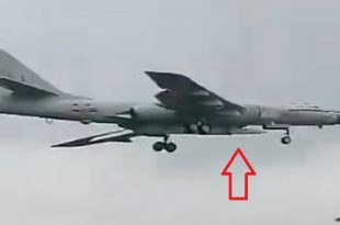 Chinese Xian H-6 Missile Carrier Aircraft Spotted With Air-launched Hypersonic Weapon