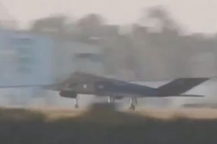 Two Retired F-117 Nighthawk Stealth Jets Make Surprise Visit To MCAS Miramar
