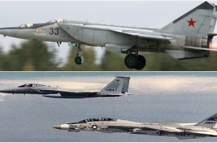 How USAF Trained F-14 and F-15 Fighters Jet Pilots To Hunt Russia's Mach 3 MiG-25 Foxbat