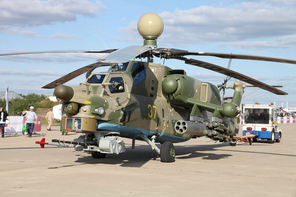 Russia To Equip Combat Helicopters With Suicide Drones