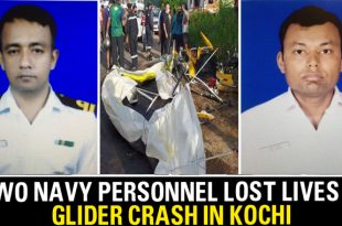 Indian Navy Glider Crashes In Kochi Killing Both Pilots