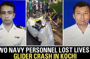 Indian Navy Glider Crashes In Kochi Killing Both Pilots