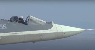 Russia Flew Su-57 Stealth Fighter Jet Without A Canopy