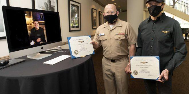 Top Gun Actor Tom Cruise Named Honorary Naval Aviators