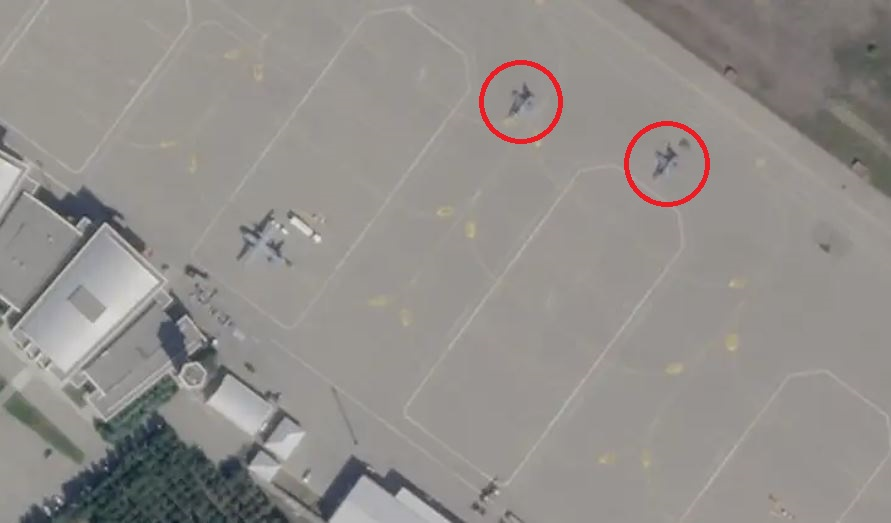 Satellite Images Shows Turkish F-16 Fighter Jets Deployed To Azerbaijan
