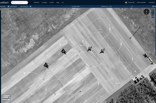Satellite Image Shows Turkish F-16 Fighter Jets Relocated To A New Base In Azerbaijan