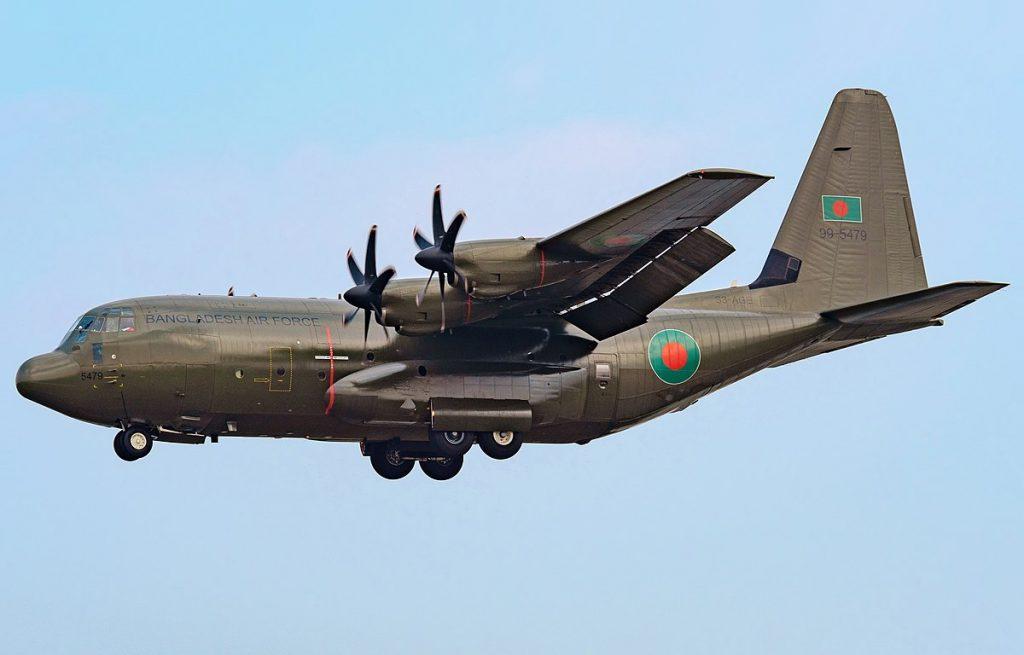 Bangladesh Air Force C-130 Transport Plane Makes Emergency Landing At Khabarovsk Airport In Russia