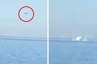 Watch: Algerian Navy Helicopter Crashed Into The Sea Off Bouharoun