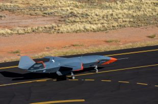 Boeing's Loyal Wingman Drone Prototype Completes High-speed Taxi Test