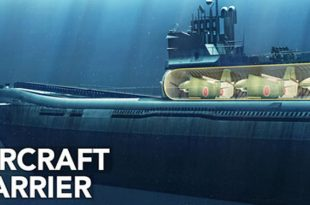Here Are Details About Imperial Japan's Secret I-400 Submarine Aircraft Carriers