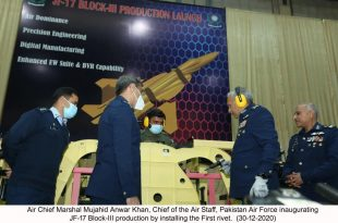 Pakistan Aeronautical Complex Formally Starts The JF-17 Thunder Block-III Production