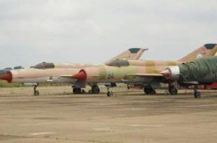 Nigerian Air Force's Twenty MiG-21 Fishbed Fighter Jet Is Up For Sale