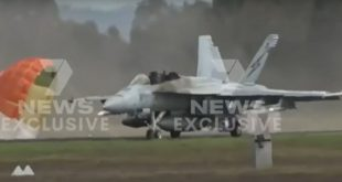 Two Pilots Forced To Eject After RAAF F/A-18F Super Hornet Suffered A Low-Speed Runway Excursion