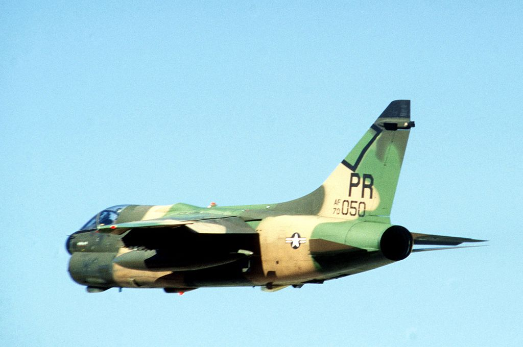 That Time Eight USAF A-7 Attack Jets Were Destroyed During A Terror Attack