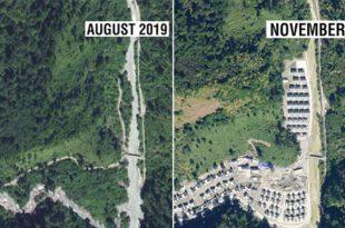 Satellite Imagery Shows China Has Built Village 4.5 km Inside Arunachal Pradesh
