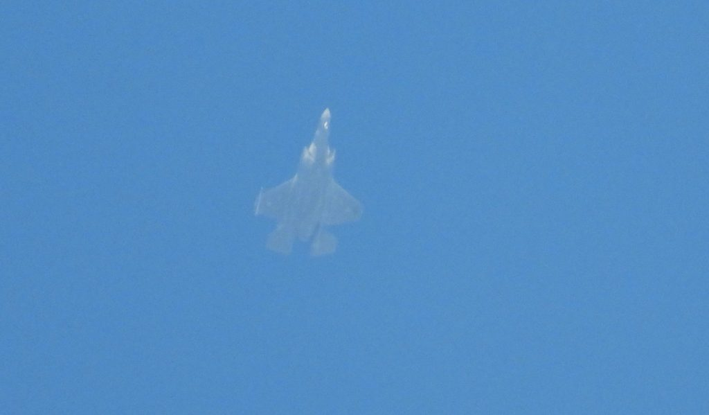 Israeli F-35 Adir Stealth Fighter Spotted In Lebanese Airspace