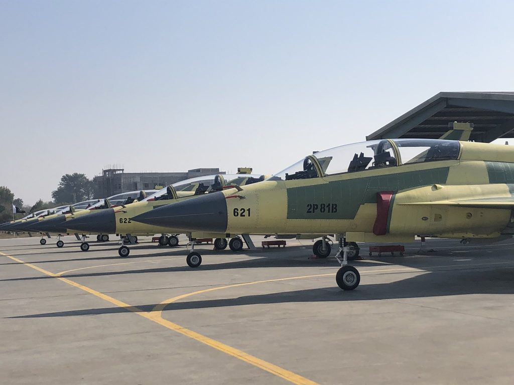 The Production Rate Of The JF-17 Thunder Reduce to 15 Days For Each Aircraft
