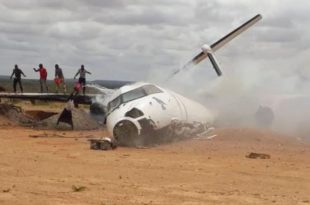 KAF Harbin Y-12 Plane Crashes Near Voi Killing All 4 People Aboard